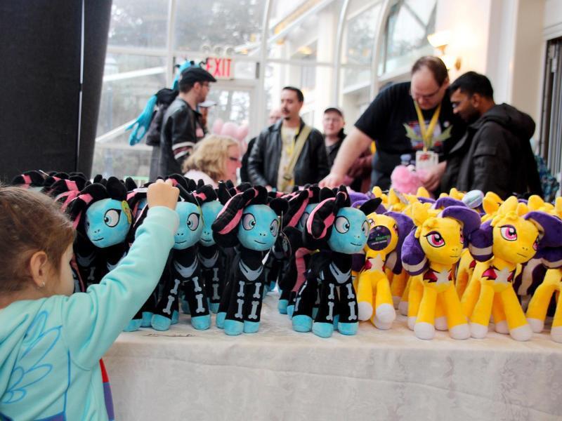 Bild zu «Bronys» auf der «PonyCon»