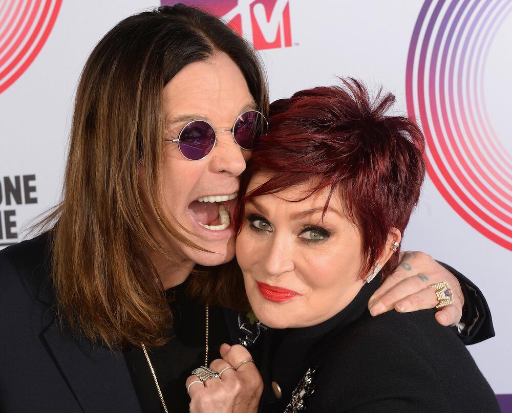 Bild zu Ozzy und Sharon Osbourne bei einer Veranstaltung in Schottland