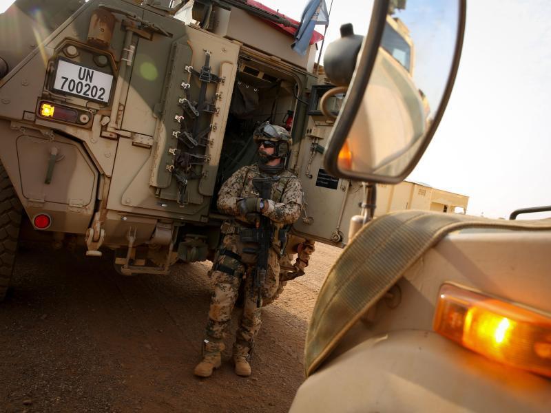 Bild zu Bundeswehr in Mali