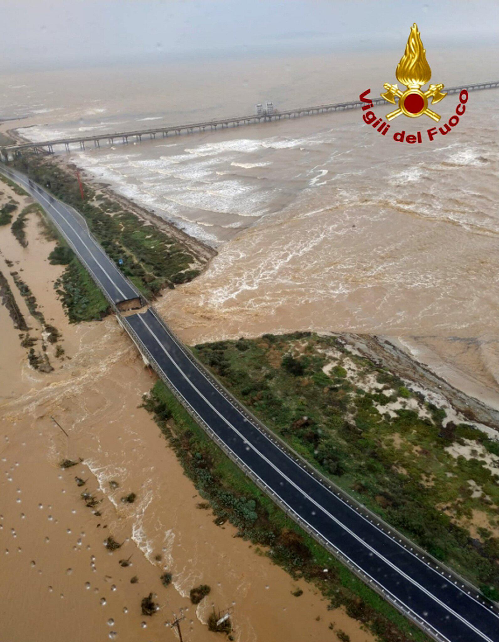 Bild zu Überschwemmungen auf Sardinien