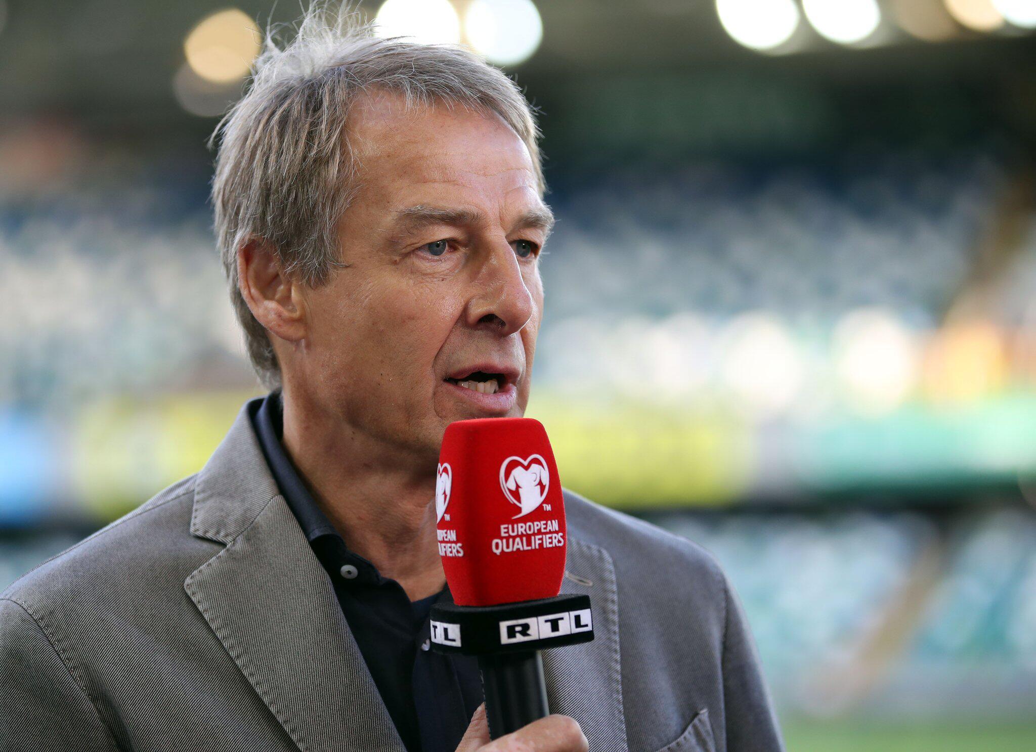 Bild zu RTL TV-Experte Jürgen Klinsmann