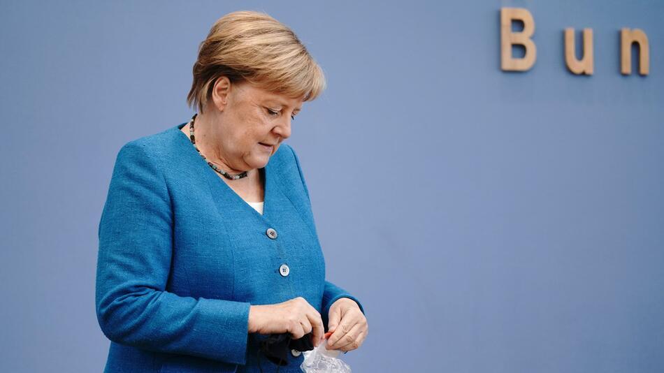 Traditionelle Sommer-Pressekonferenz mit Bundeskanzlerin Merkel