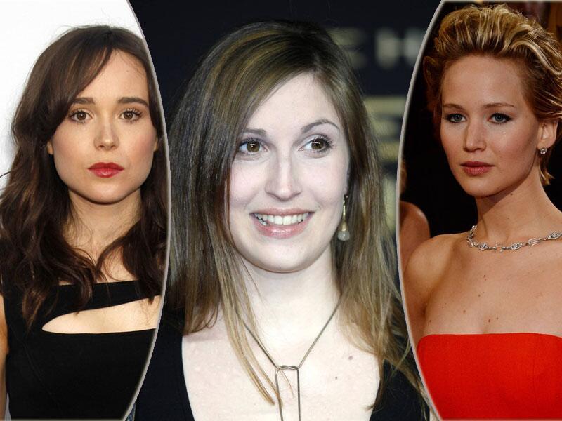 Bild zu Ellen Page, Maria Koschny und Jennifer Lawrence