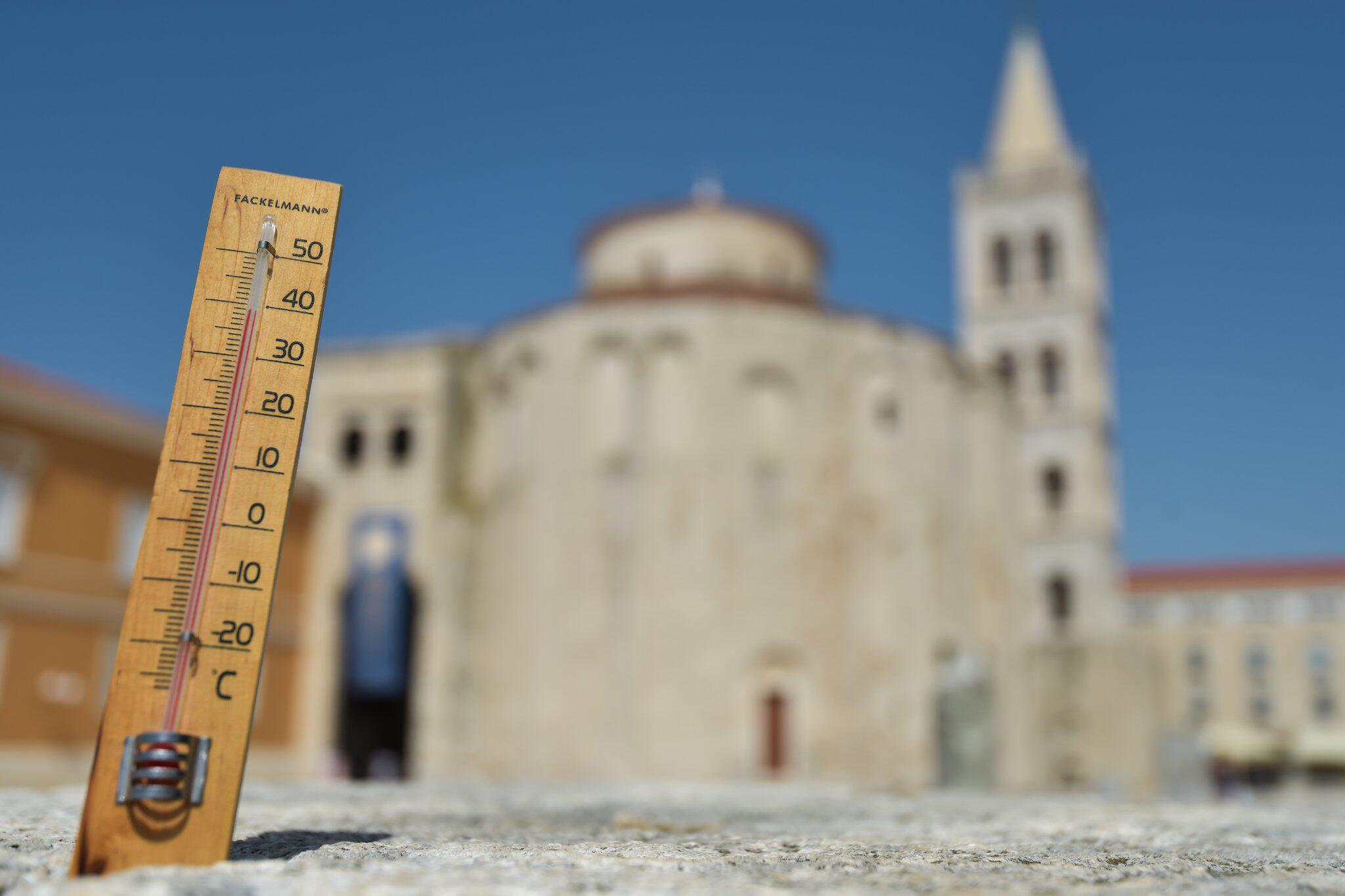 Bild zu Sommerliche Hitze in Kroatien