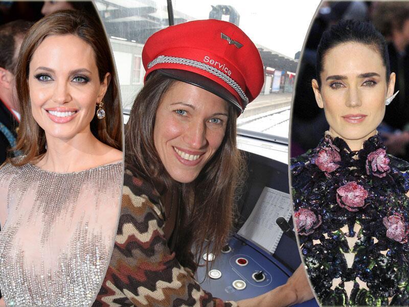 Bild zu Angelina Jolie, Claudia Urbschat-Mingues und Jennifer Connelly