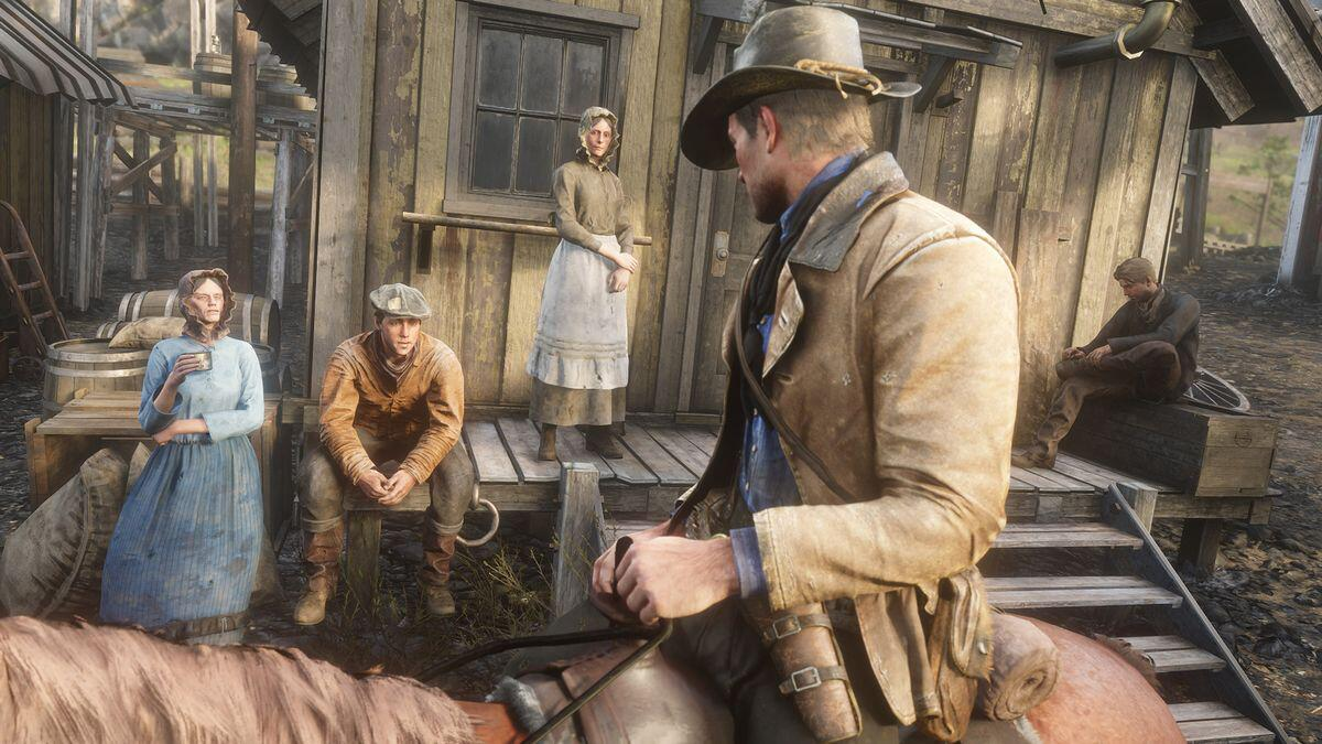 Bild zu Red Dead Redemption 2, RDR2, Rockstar Games, Western, Epos, Game, Spiel, Shooter, College, Professor
