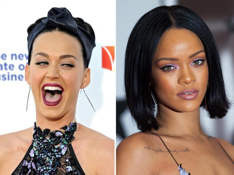 Bild zu Katy Perry und Rihanna
