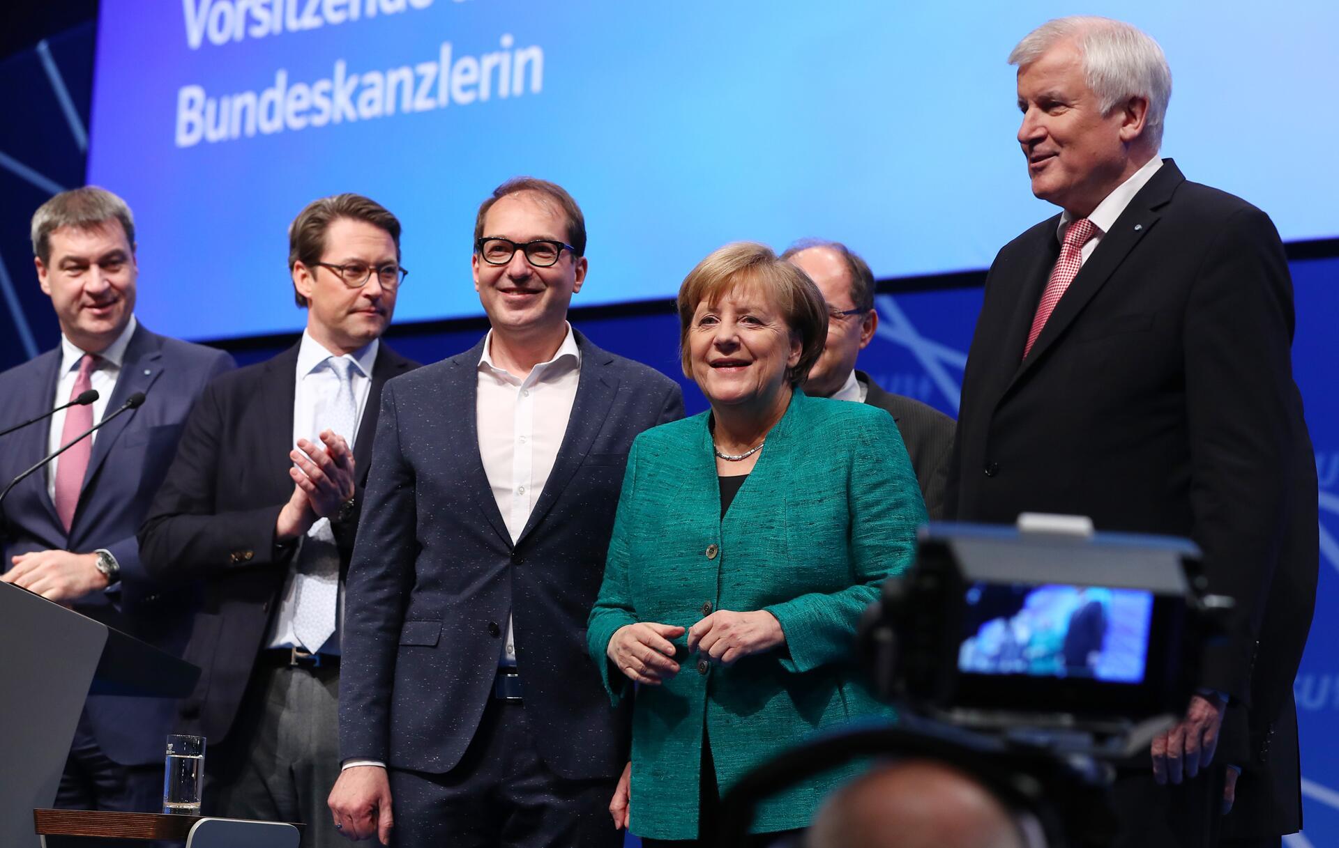 Bild zu Angela Merkel, CSU-Parteitag