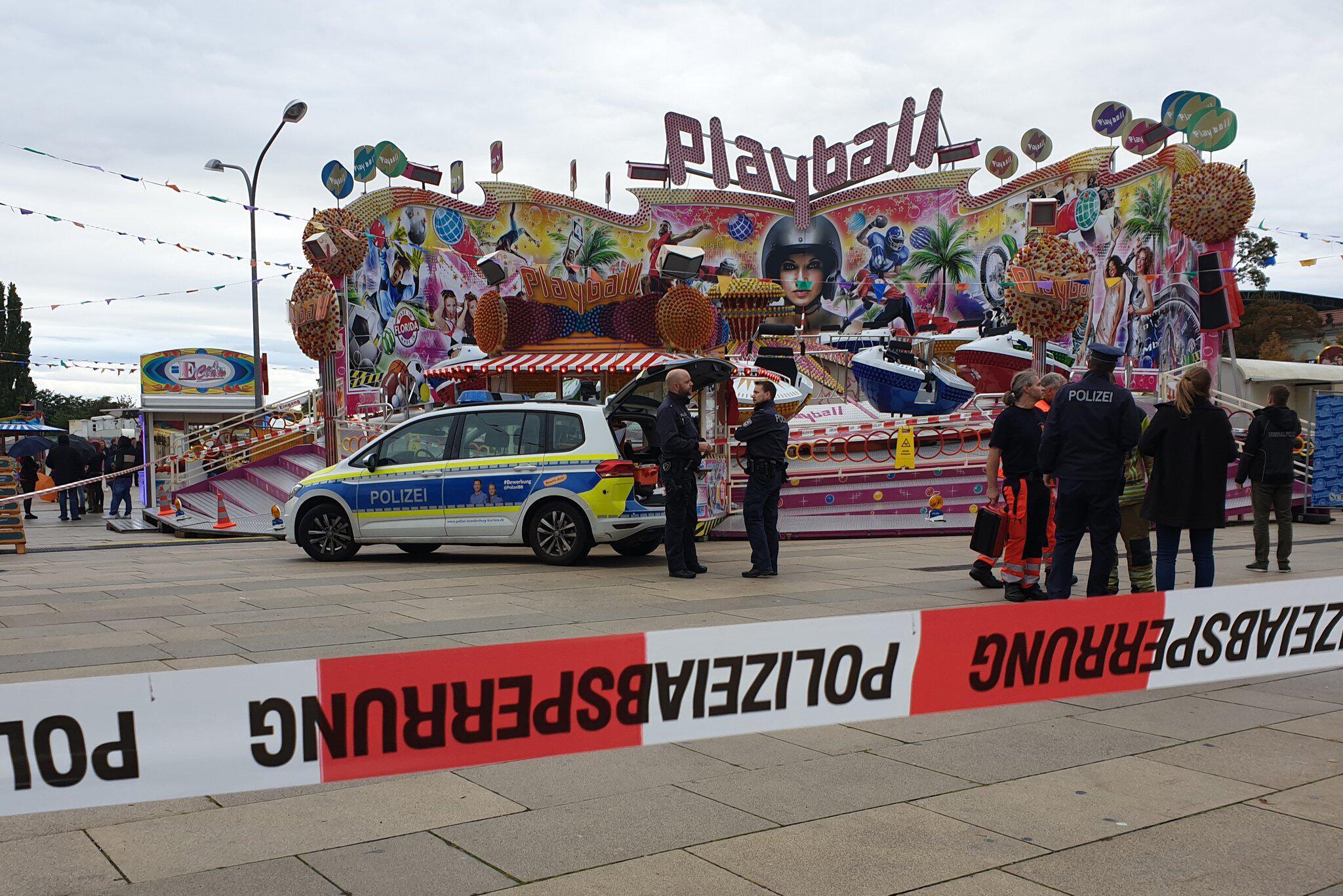 Bild zu Tödliches Unglück bei Fest in Potsdam