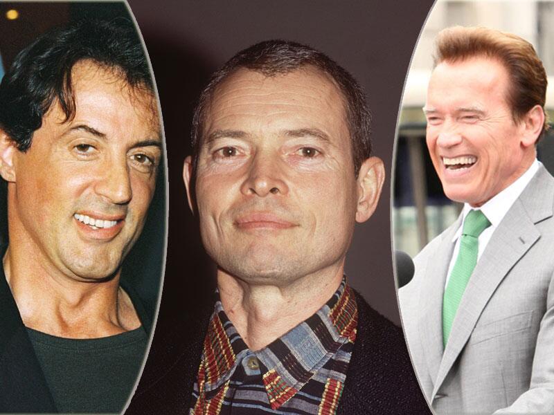 Bild zu Sylvester Stallone, Thomas Danneberg und Arnold Schwarzenegger