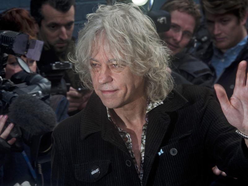 Bild zu Bob Geldof