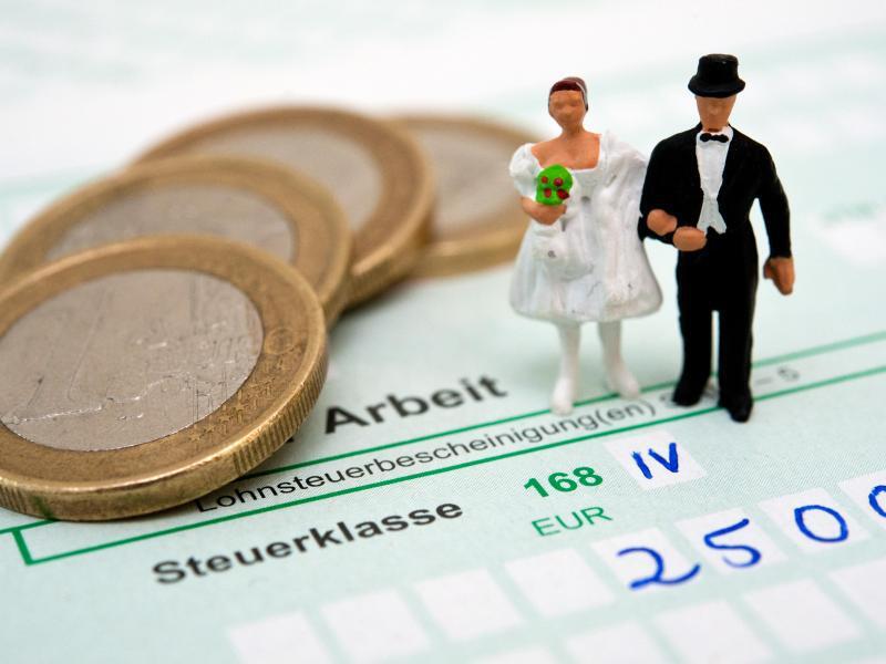 Bild zu Wahl der richtigen Steuerklasse
