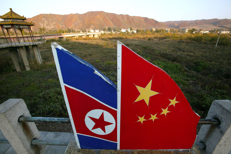Bild zu Nordkorea, China, Tumen