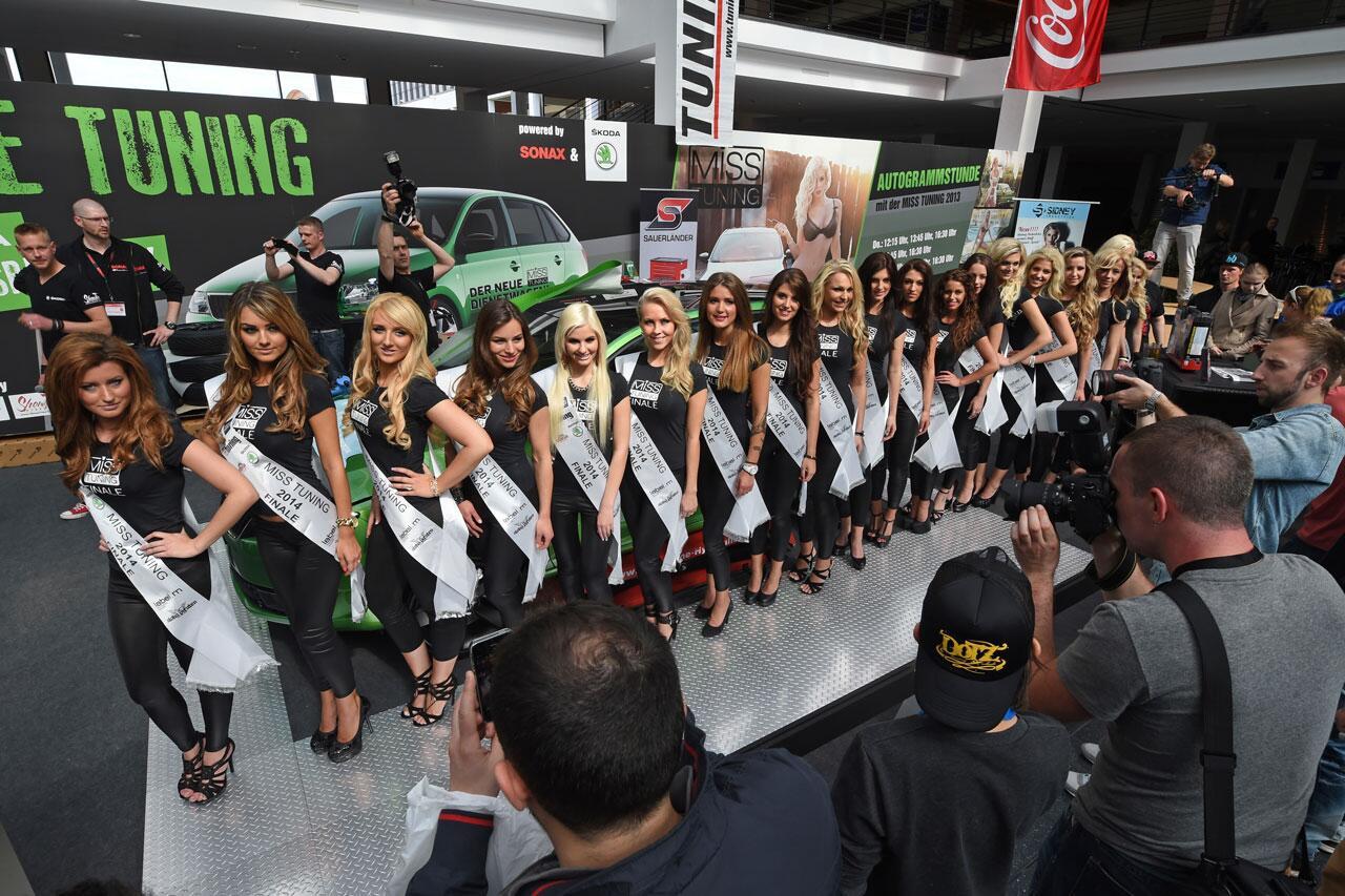 Bild zu Miss Tuning 2014