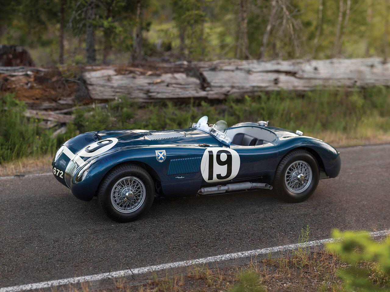 Bild zu 1953 Jaguar C-Type Works Lightweight