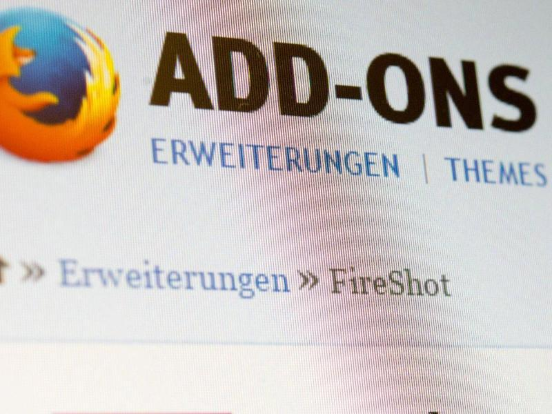 Bild zu Add-ons bei Firefox