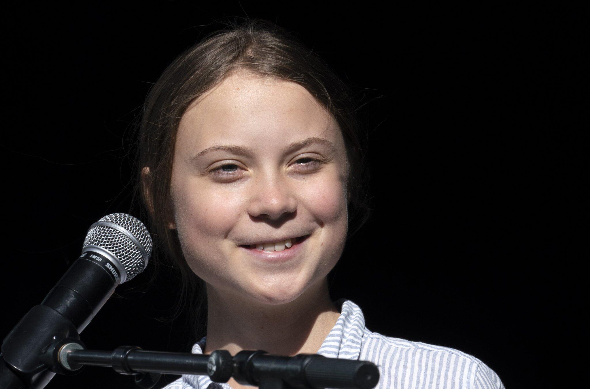 Bild zu Greta Thunberg in Kanada