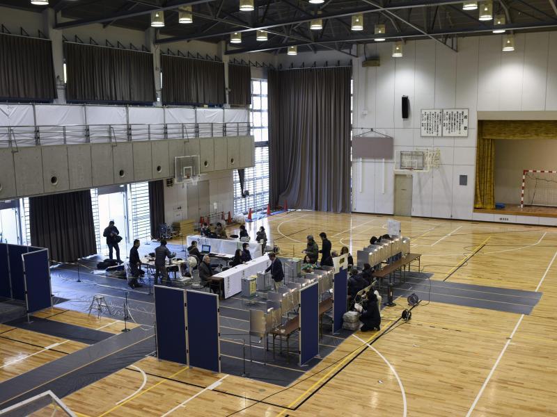 Bild zu Turnhalle als Wahllokal