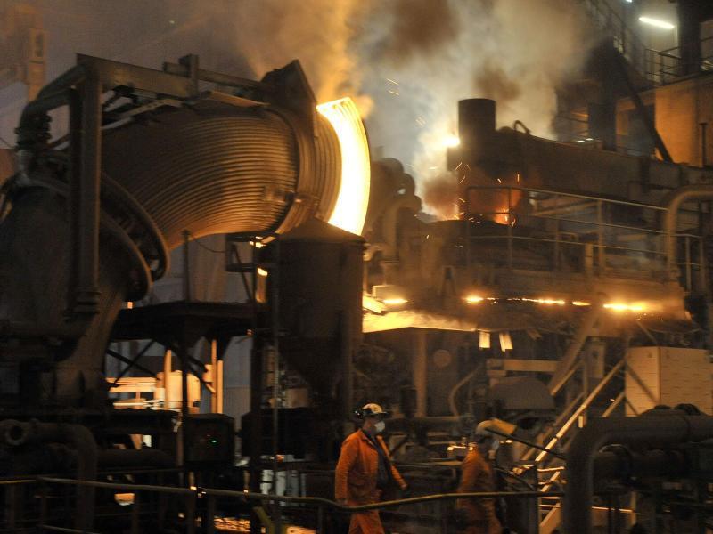Bild zu Stahlwerk