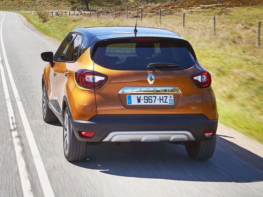 Bild zu Platz 5: Renault Captur