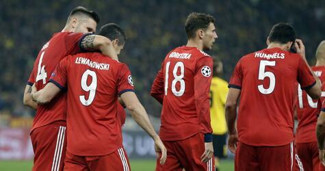 AEK Athen - Bayern München