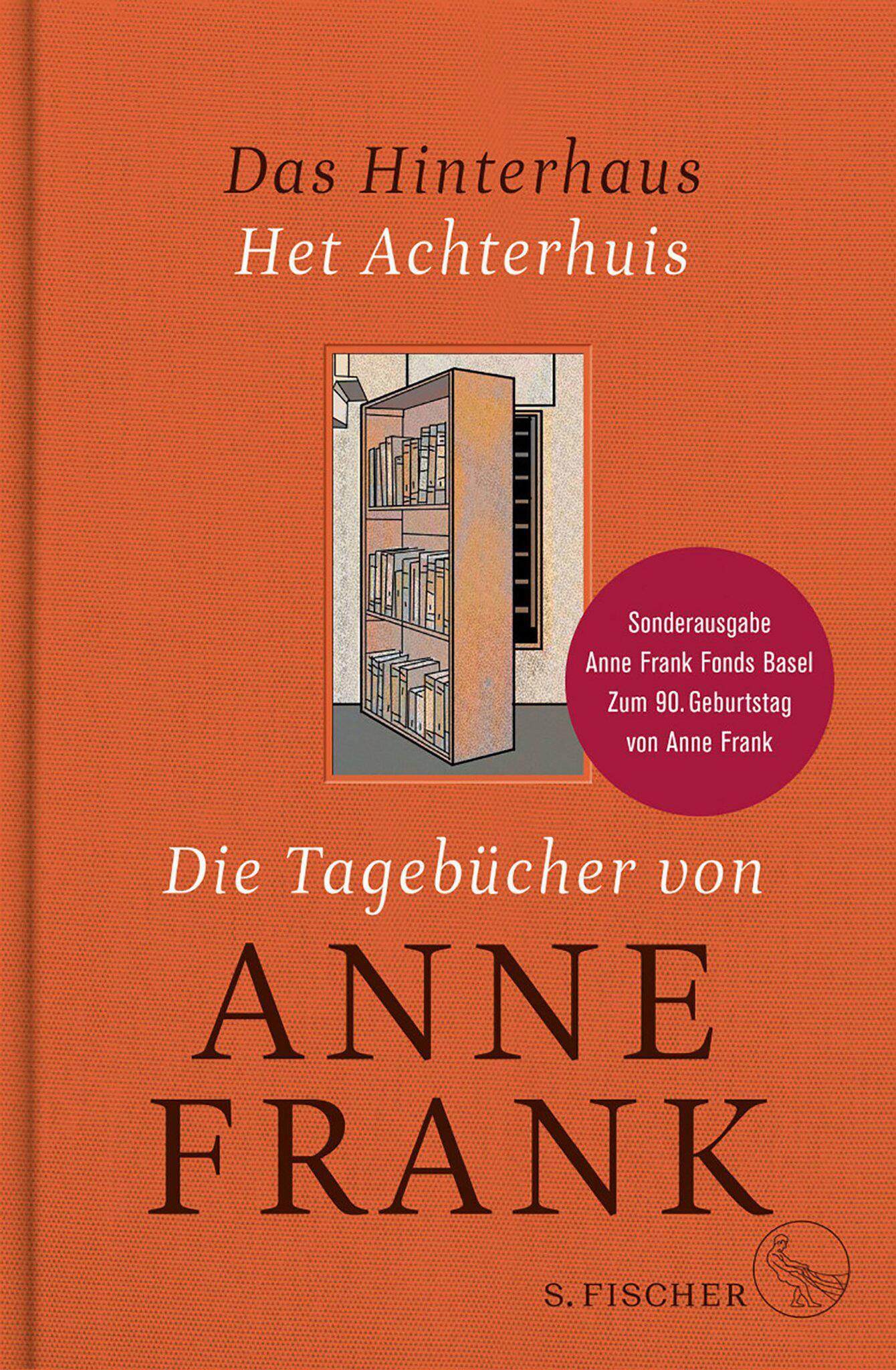 Bild zu Sonderedition, Tagebuch, Tagebücher, Anne Frank, Cover, Titel, S. Fischer, Verlag