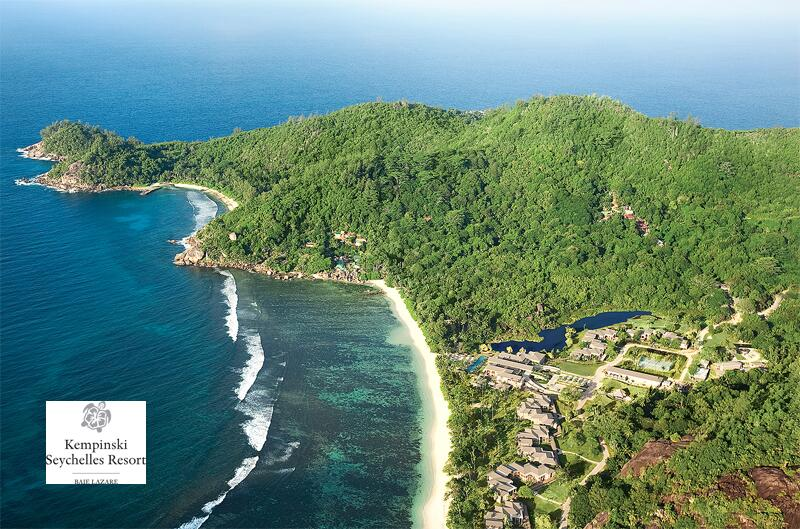 """Bild zu """"Kempinski Seychelles Resort"""" aus der Luft"""