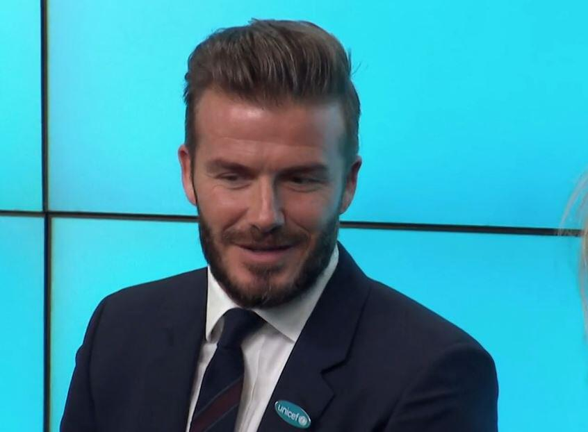 Bild zu David Beckham, Comeback
