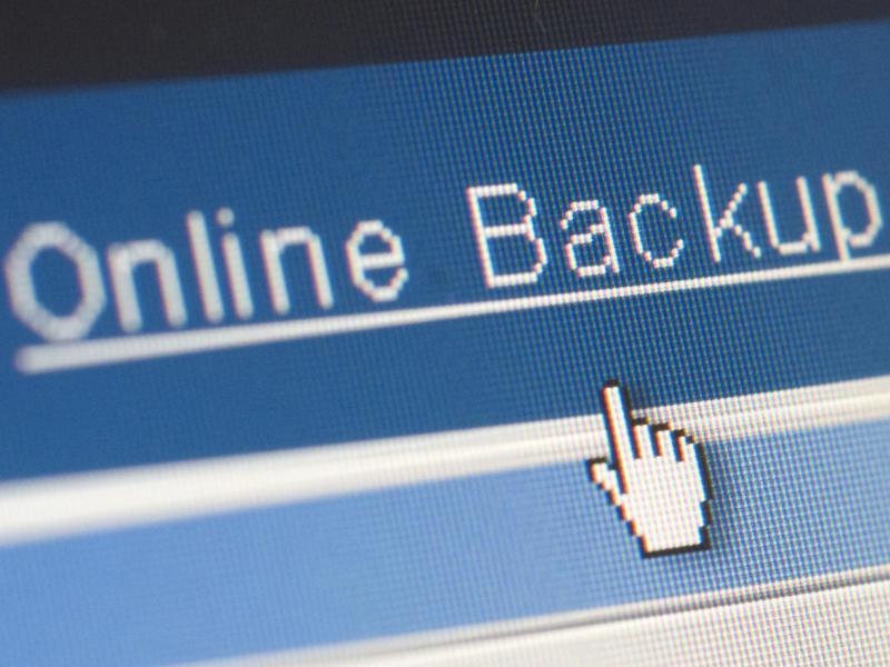 Bild zu Online Backup