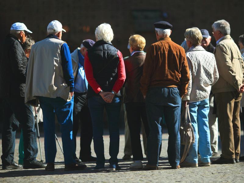 Bild zu Rentner
