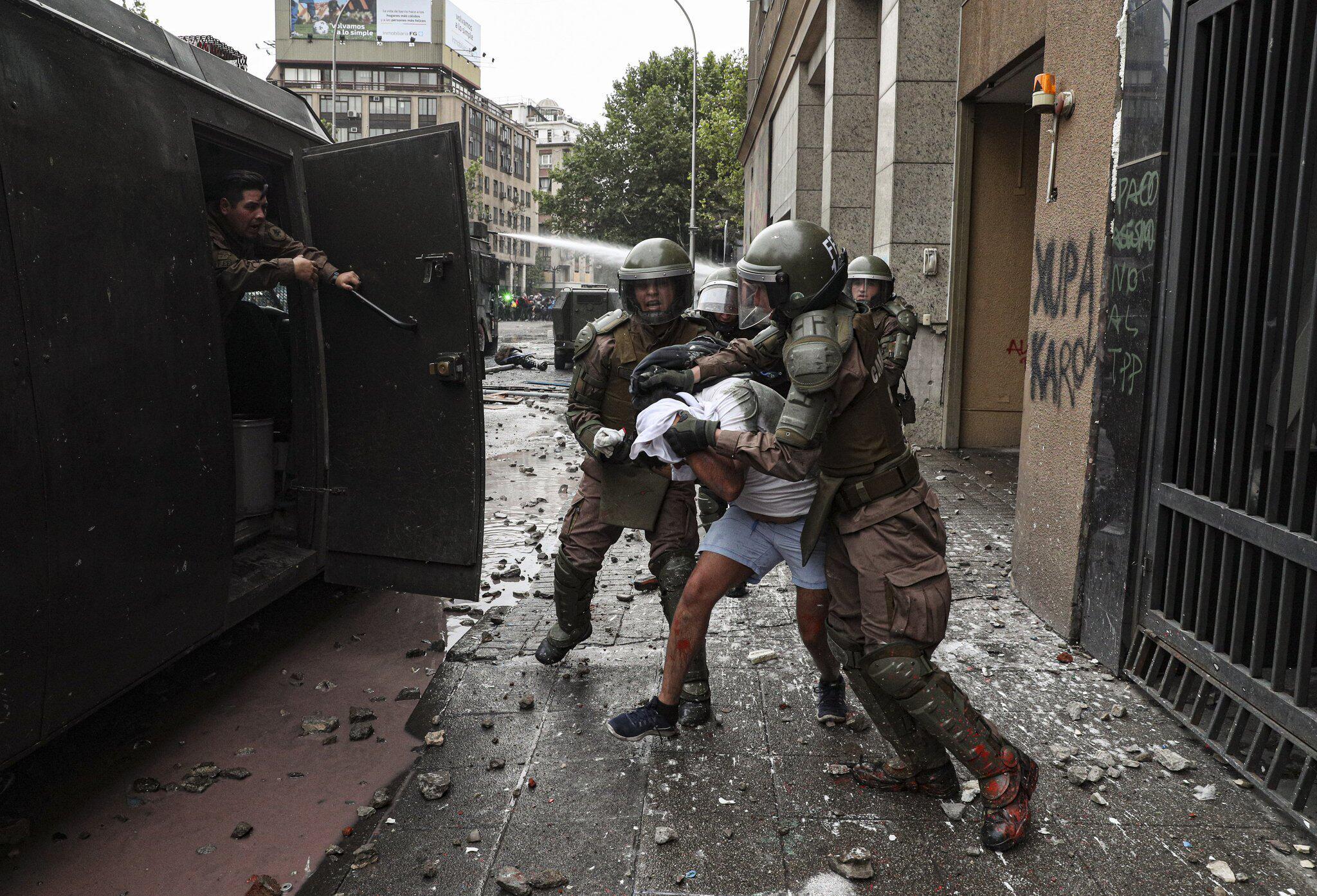 Bild zu Proteste in Chile