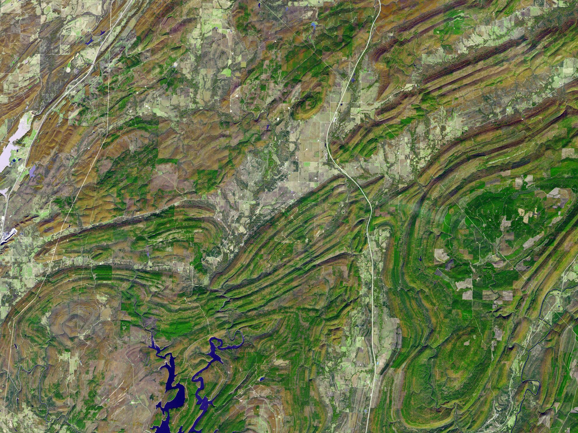 Bild zu Ouachita Mountains