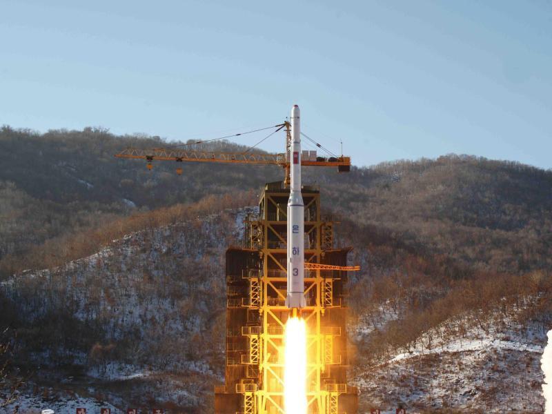 Bild zu Raketenstart in Nordkorea