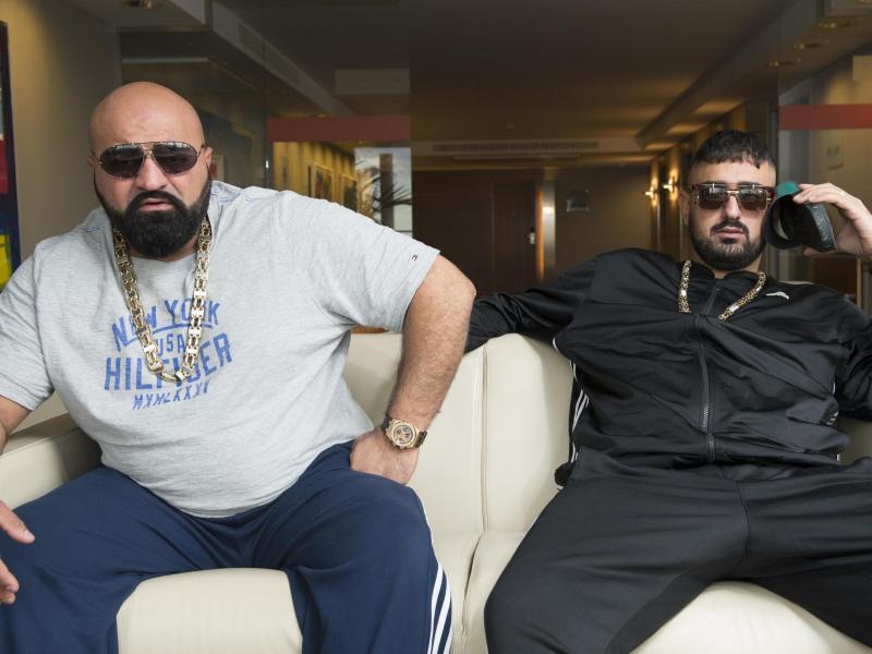 Bild zu Rapper-Duo Coup