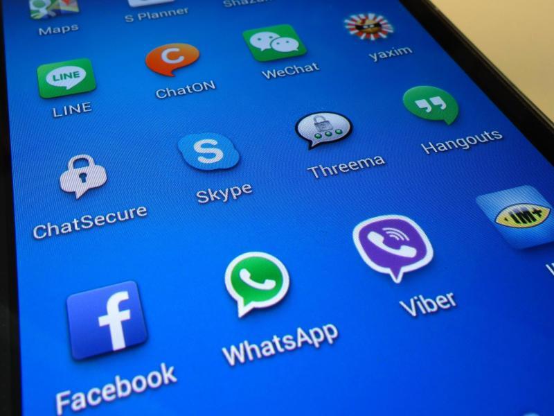 Bild zu Messenger-Apps auf dem Smartphone