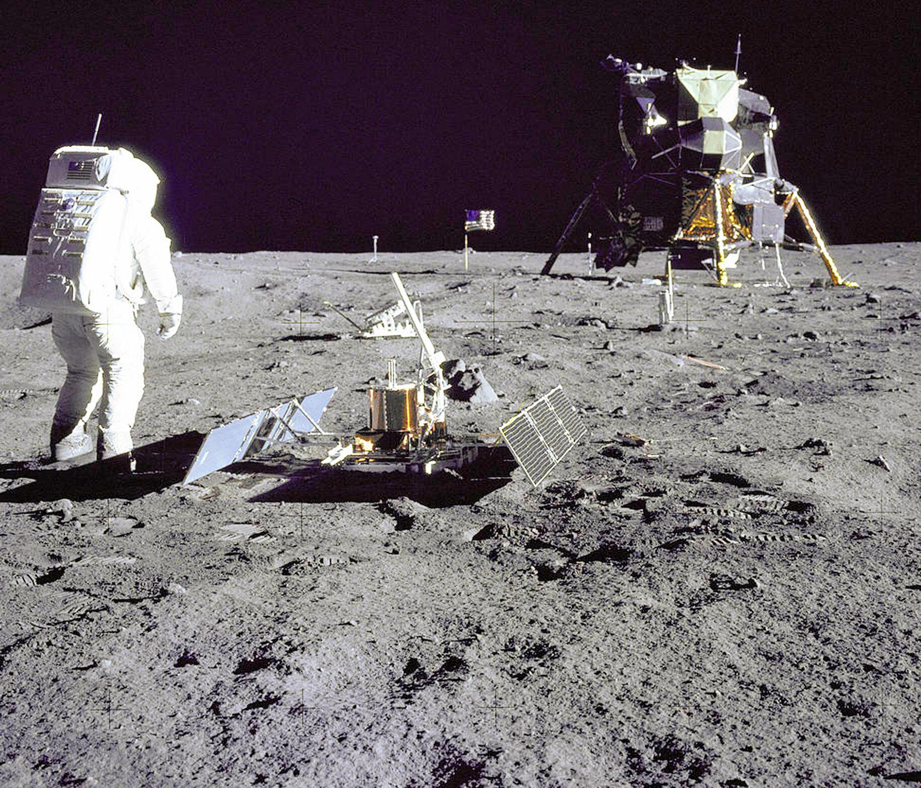 Bild zu 50 Jahre Mondlandung