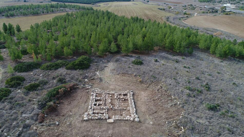 Überreste von 3200 Jahre alter Festung in Israel gefunden