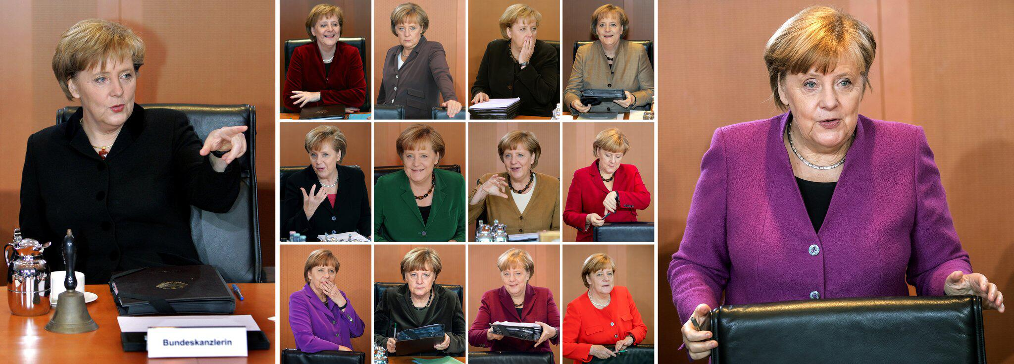 Bild zu Angela Merkel from 2005 to 2018