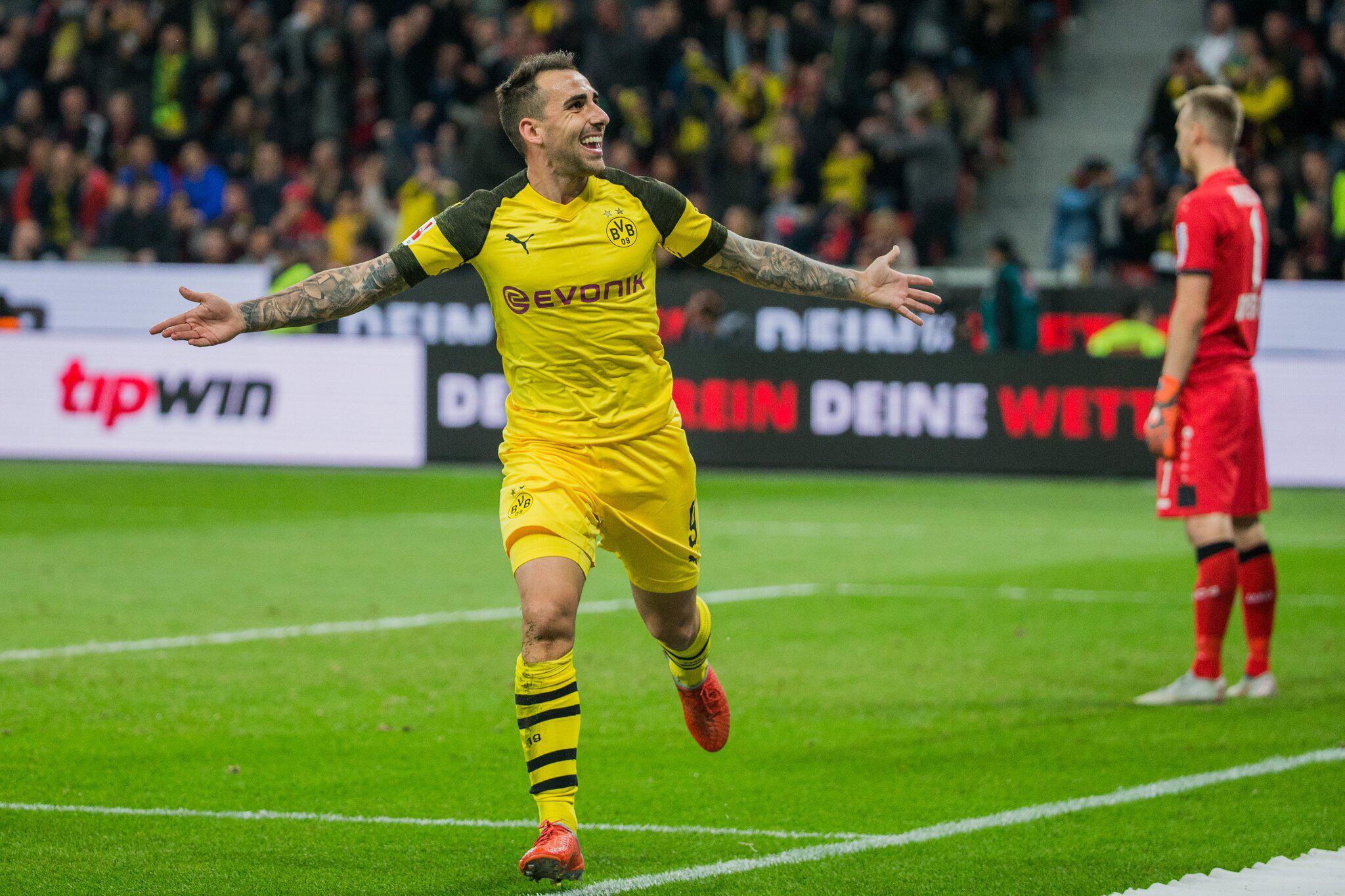 Bild zu Bayer Leverkusen - Borussia Dortmund
