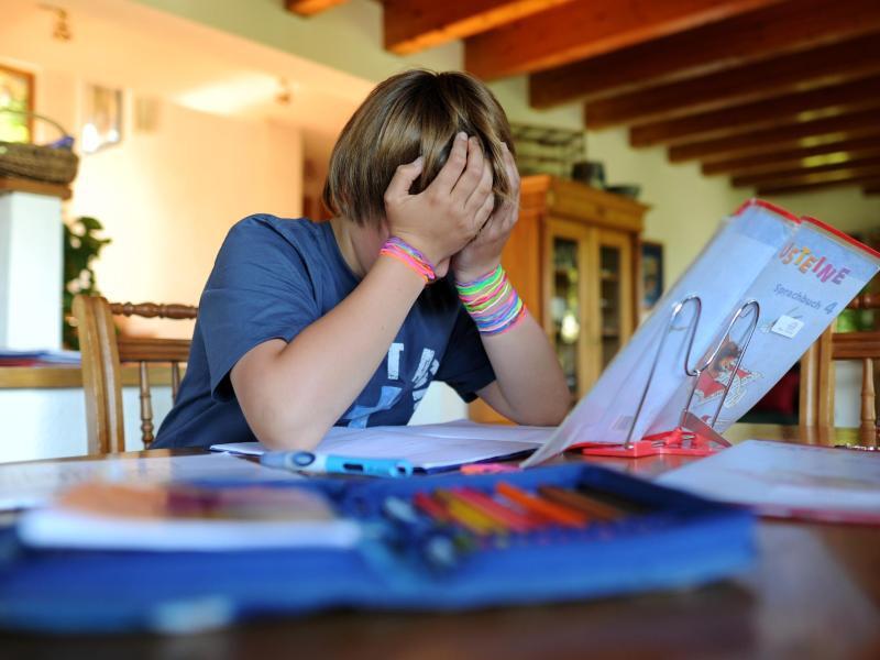 Bild zu Hausaufgaben-Probleme