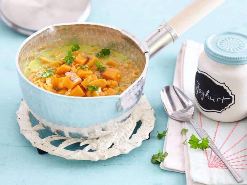Bild zu Süßkartoffel-Linsen-Curry