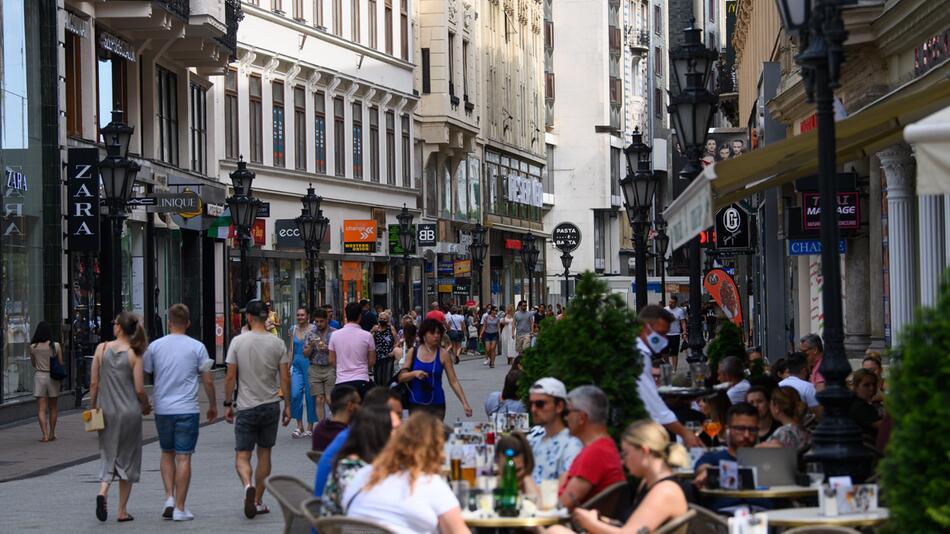 Sommer in Budapest