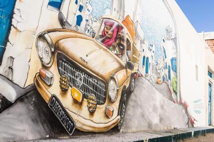 Street-Art-Projekt Djerbahood
