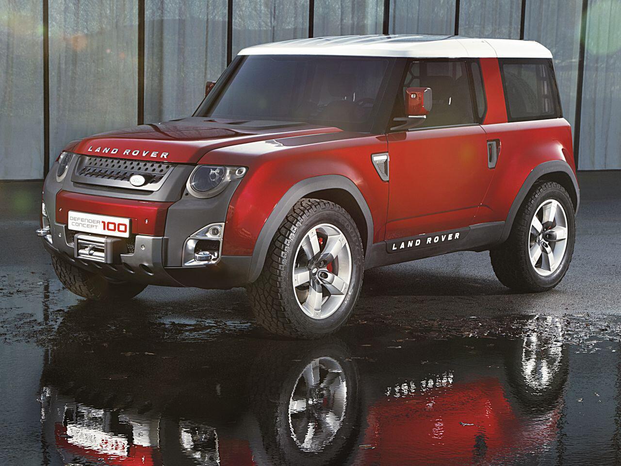 Der Defender Kommt Zurck Land Rover Bild Zu Concept Dc100