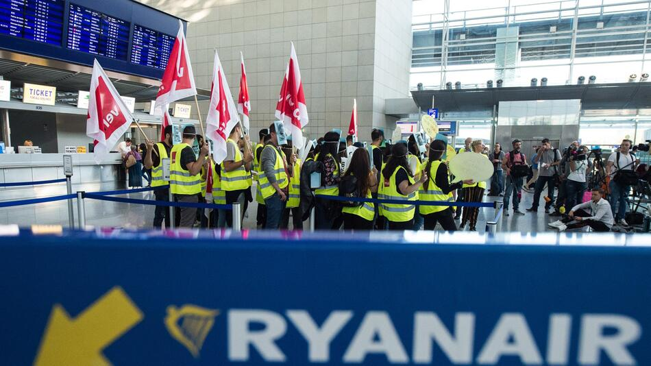Streik deutscher Ryanair-Mitarbeiter
