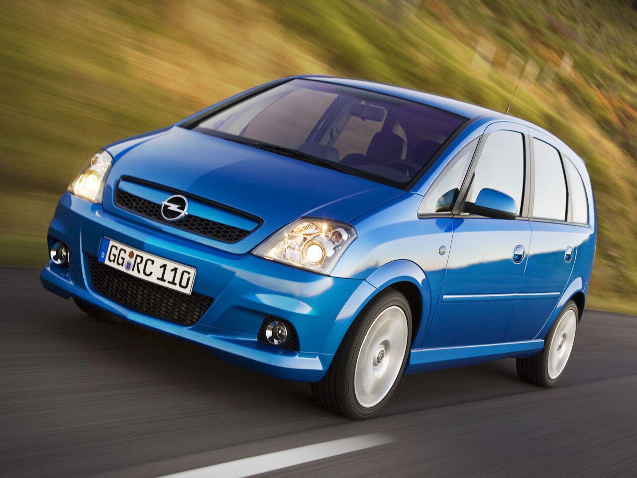 Bild zu Opel Meriva OPC
