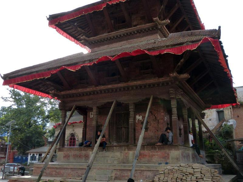 Bild zu Tempel am Durbar Square