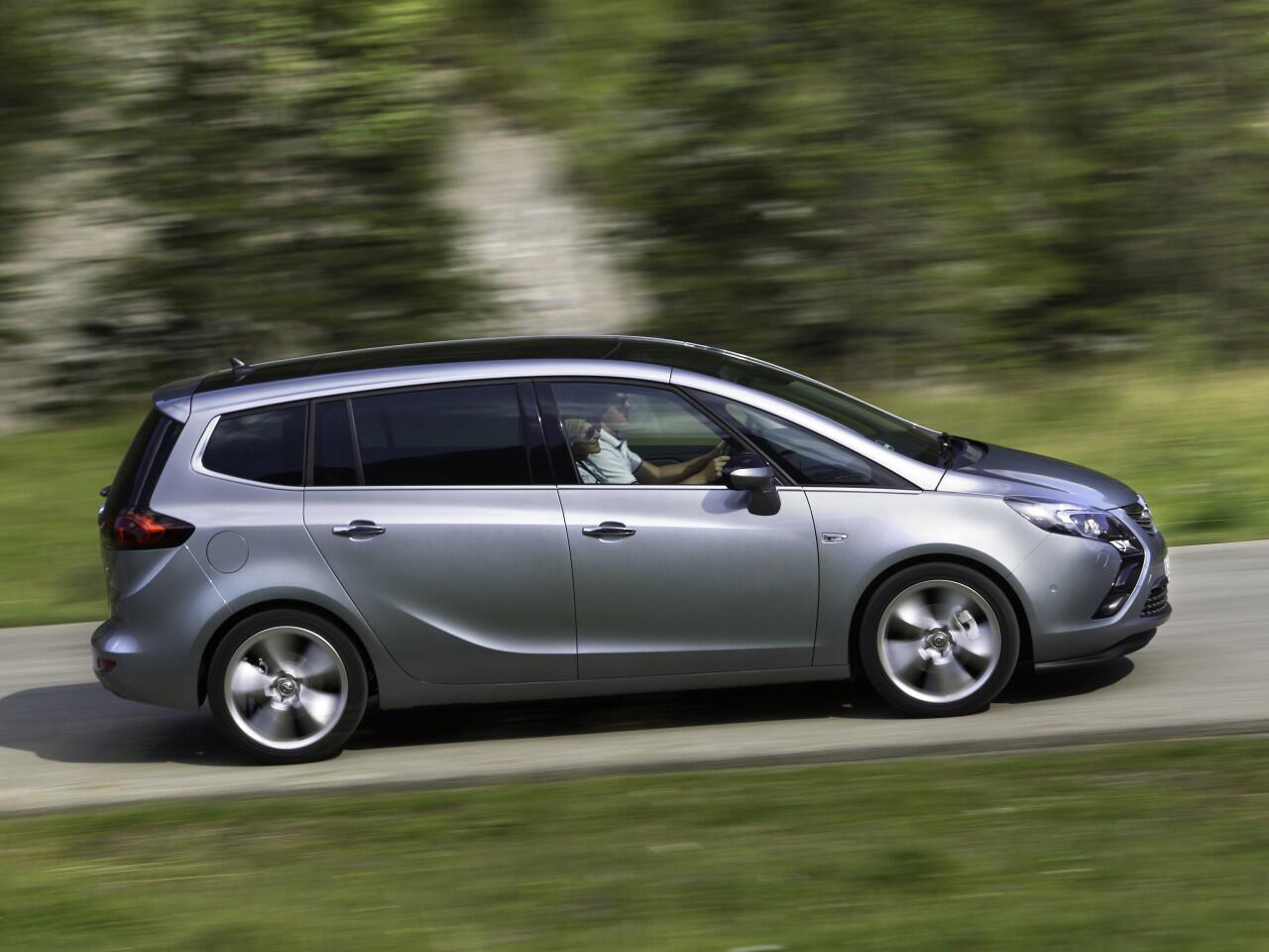 Bild zu 7. Platz: Opel Zafira Tourer