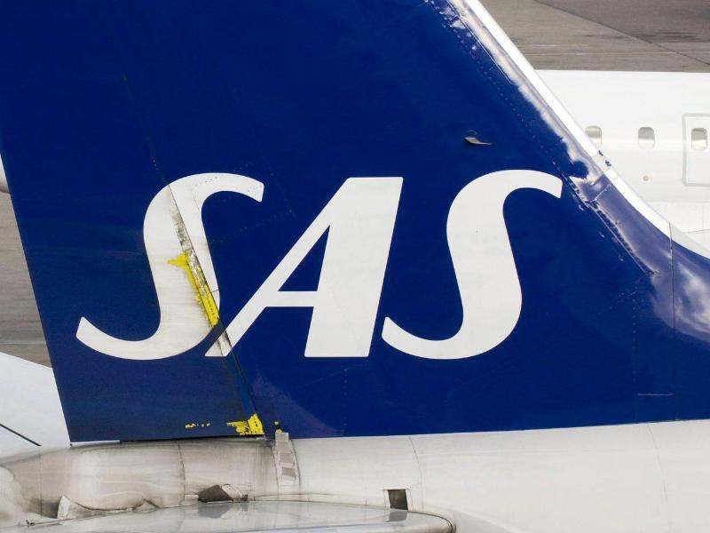 Bild zu Flugzeug der Fluggesellschaft SAS
