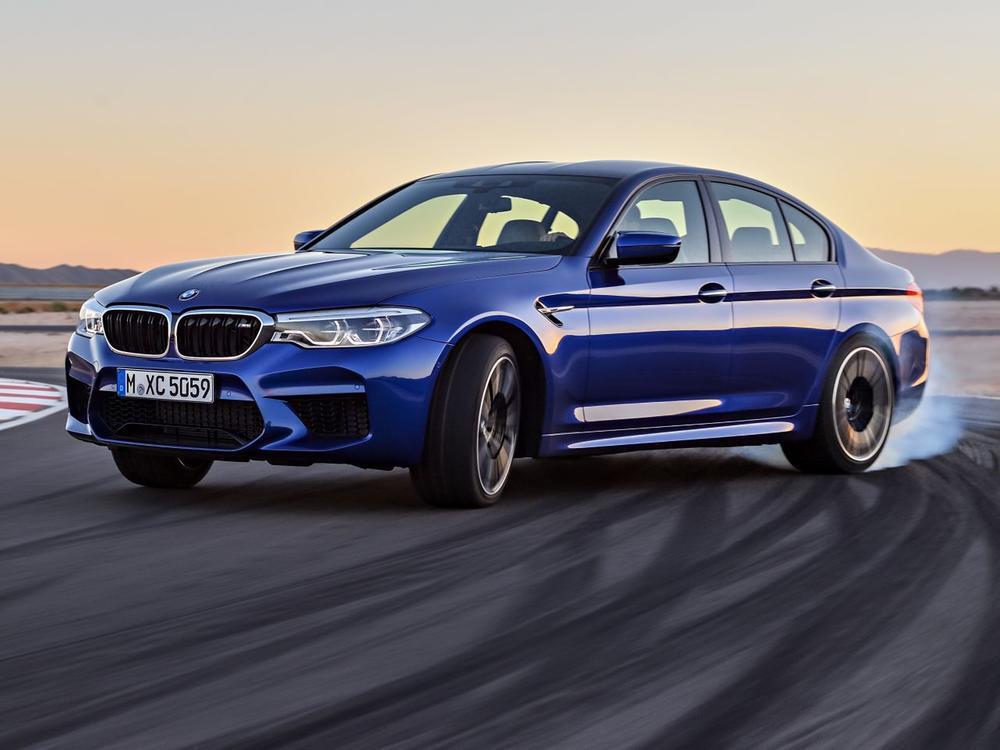 Bild zu BMW M5